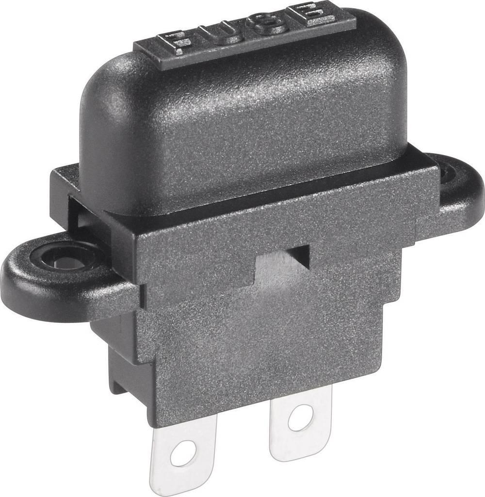Držalo za ploščate varovalke, standardna ploščata varovalka do 2,5 mm2