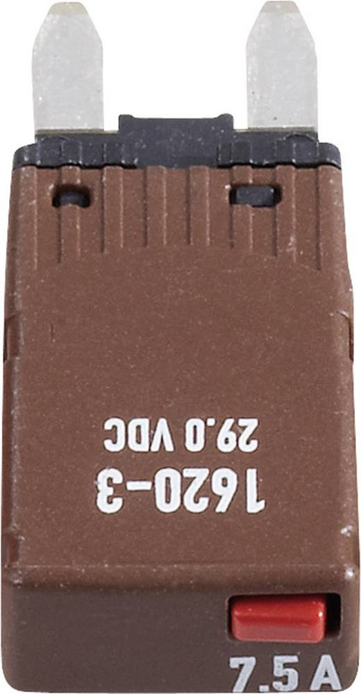 Sikringsautomat Mini Fladsikring 7.5 A Brun 1620-3-7,5A 1620-3-7,5A 1 stk