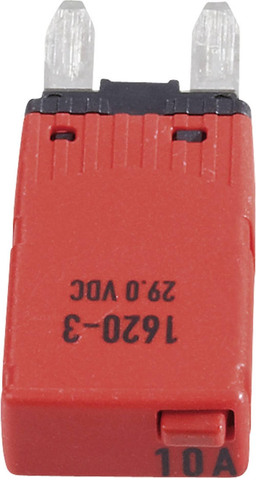 Sikringsautomat Mini Fladsikring 10 A Rød 1620-3-10A 1620-3-10A 1 stk