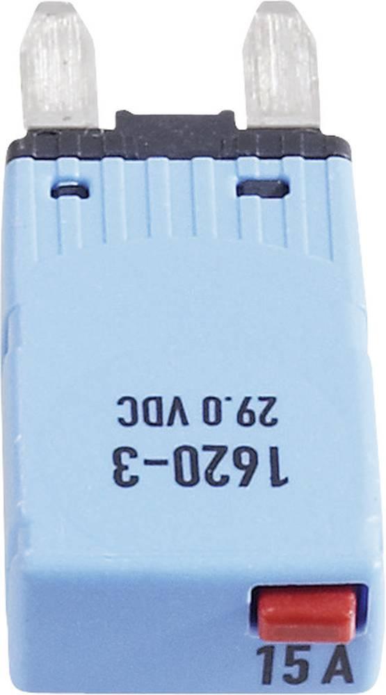 Sikringsautomat Mini Fladsikring 15 A Blå 1620-3-15A 1620-3-15A 1 stk