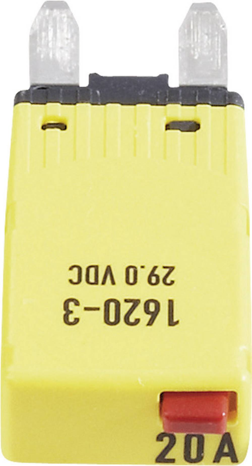 Sikringsautomat Mini Fladsikring 20 A Gul 1620-3-20A 1620-3-20A 1 stk
