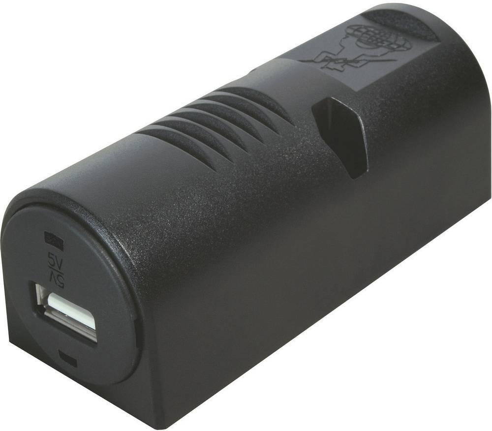 ProCar USB vtičnica za površinsko pritrditev, maks. tokovna obremenitev: 1 A za USB-A