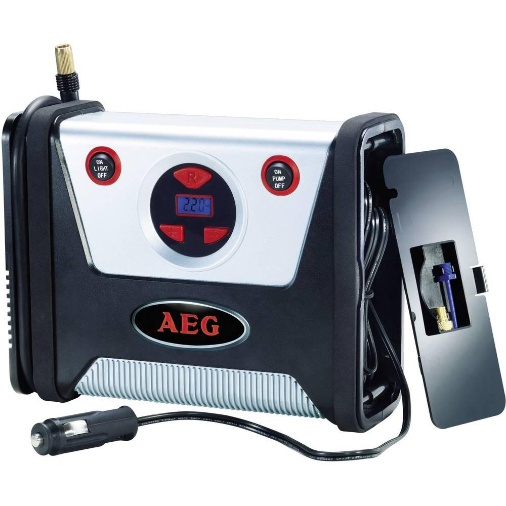 Kompressor 7 bar AEG 97136 Digitalt display , Automatisk slukning, Ledningsrum/-optagelse, Med arbejdslampe