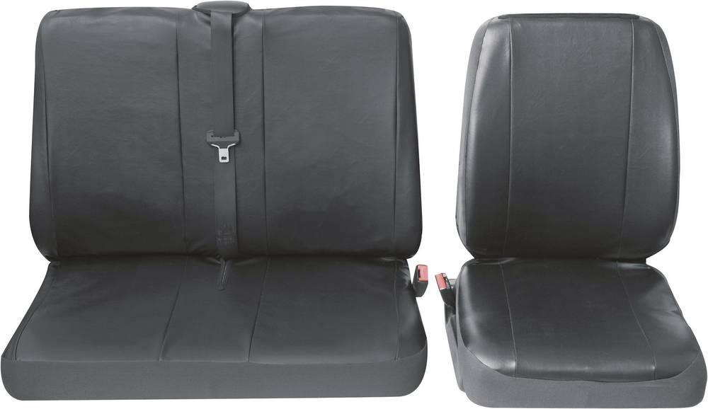 Navlaka za sjedala Petex Profi 4, crna, jednostruko/dvostruko sjedalo, komplet 30071904