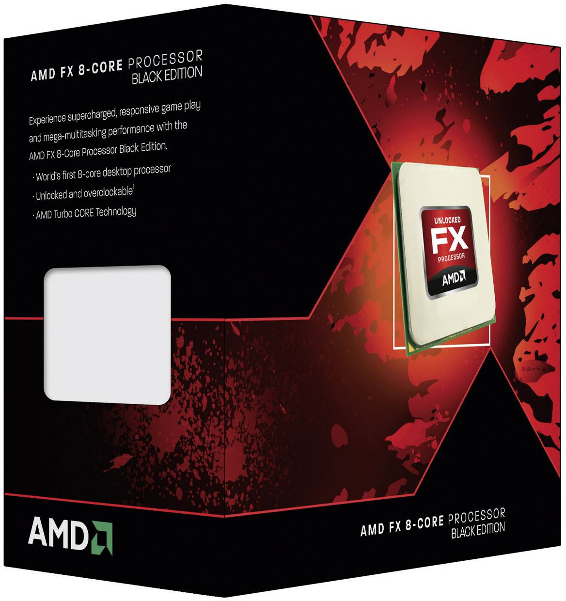 Boxed processor AMD FX-4300 4 x 3 8 GHz Quad Core PC base: AMD AM3+