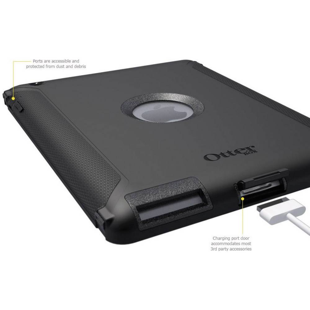 Otterbox Defender Series Case For Apple Ipad Black From New