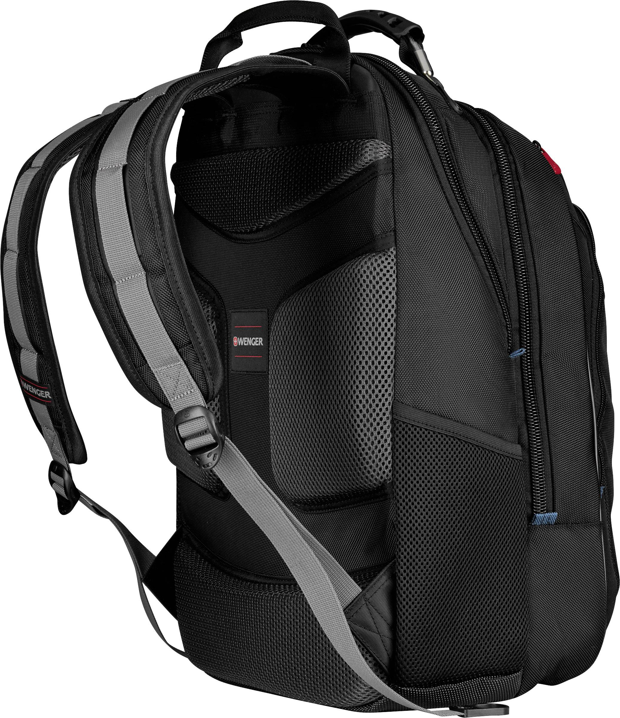 18bc83885 Wenger Laptop backpack 600637 CARBON Suitable for max: 43,9 cm (17,3