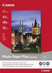 Fotopapper Canon Photo Paper Plus Semi-gloss SG-201 1686B026 DIN A3 260 gm² 20 ark Sidenglans