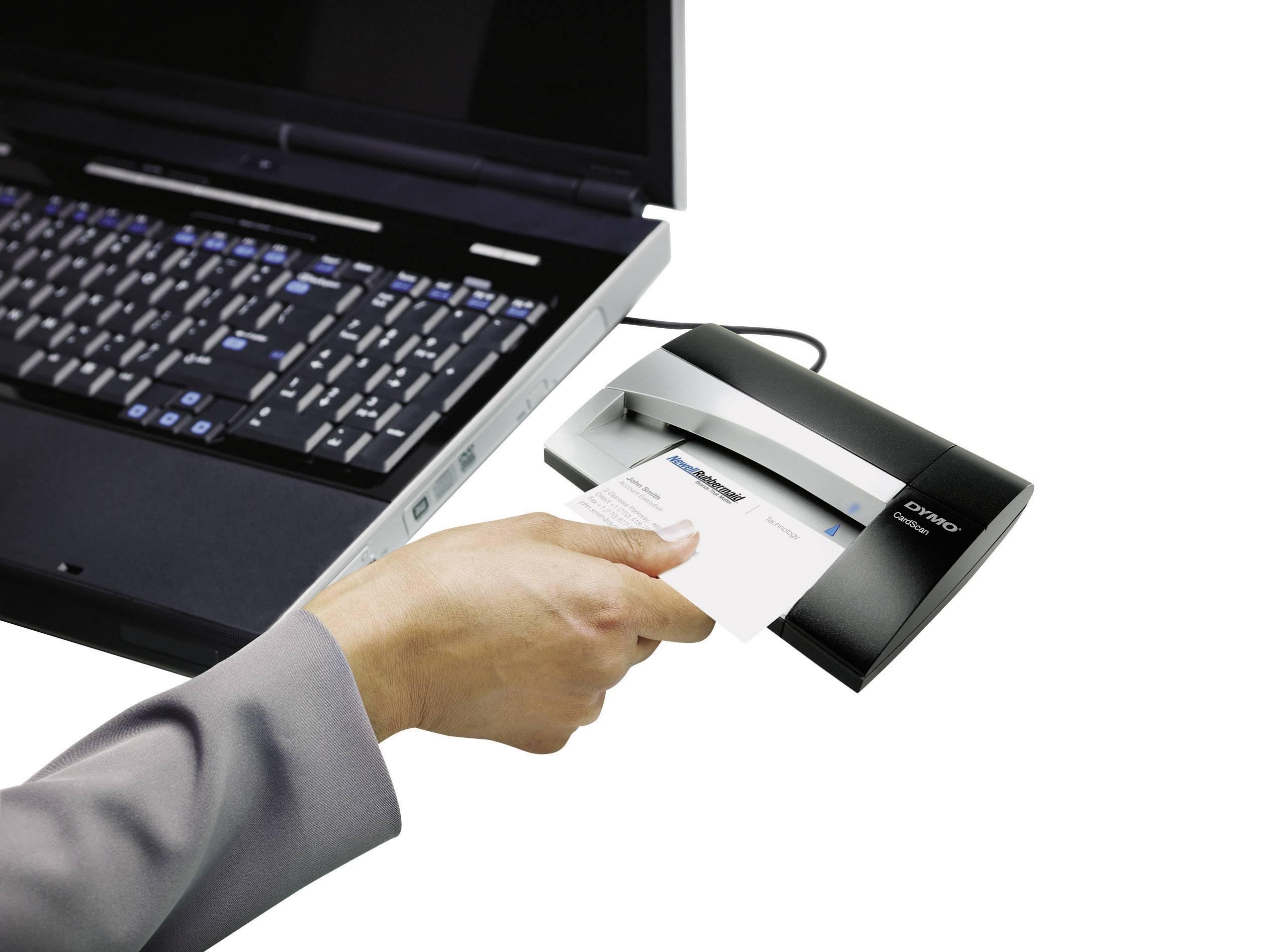 Dymo Cardscan Executive V9 Business Card Scanner 300 X 300