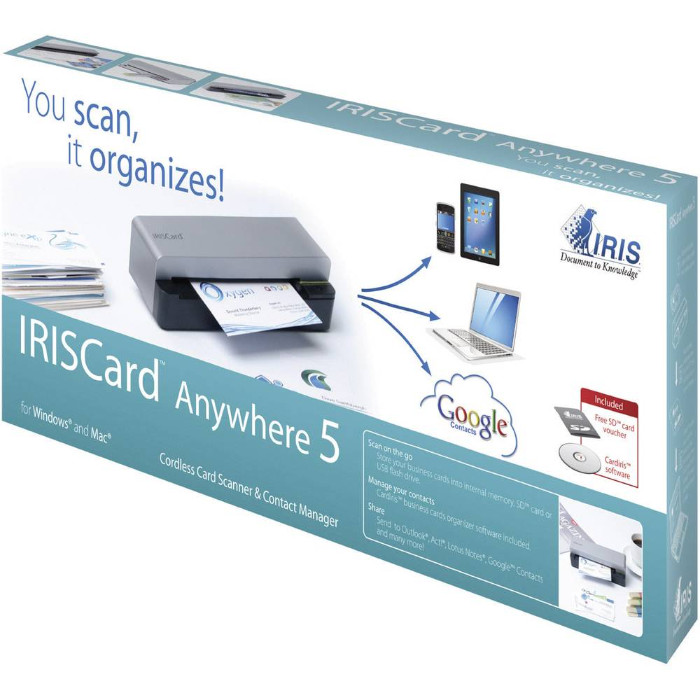 Business card scanner a6 iris by canon iriscard anywhere 5 usb from business card scanner a6 iris by canon iriscard anywhere 5 usb reheart Gallery