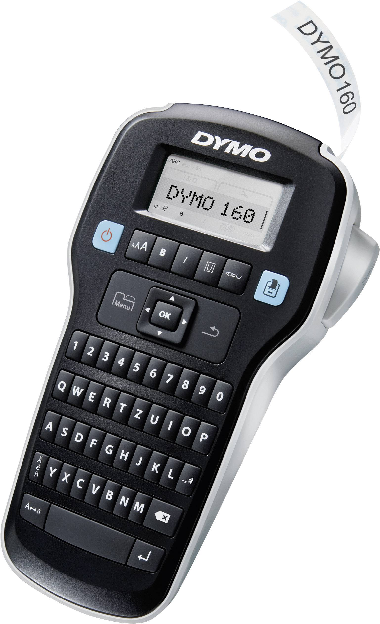 DYMO Labelmanager 160 Label printer Suitable for scrolls: D1