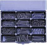 400 piece Pressure spring-Assortment threads conforms DIN 1700