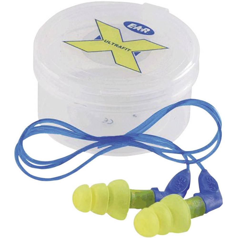 Ušni čepići za zaštitu sluha 3M E-A-R Ultrafit X, sa vrpcom, 35 dB, 1 par GT600000787