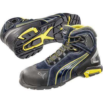Safety work boots S1P Size: 45 Black, Blue, Yellow PUMA Safety Metro Protect 632230 1 pair