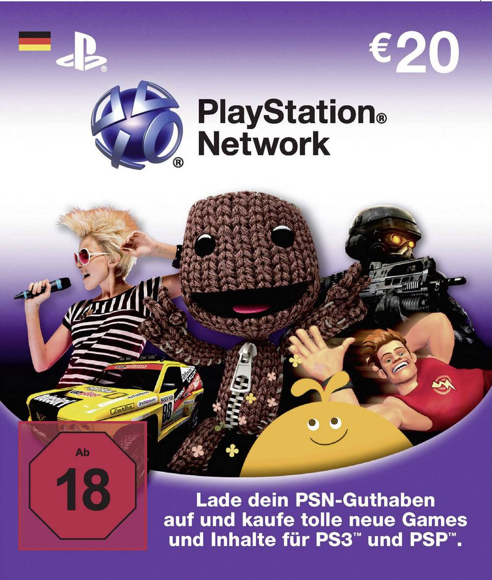 Playstation Network Card 20 Euro From Conrad Com