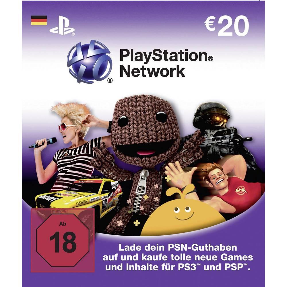 Playstation Network Card 20 Euro From Conrad Com