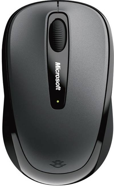 Image of Microsoft Mobile Mouse 3500 Wireless mouse BlueTrack Black