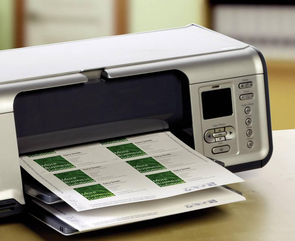 Printable Business Cards Smooth Edge Avery Zweckform C32011 25 85