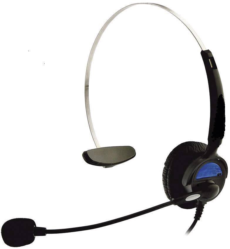 Basetech Kj 97 Telephone Headset Rj10 Plug Conrad Com