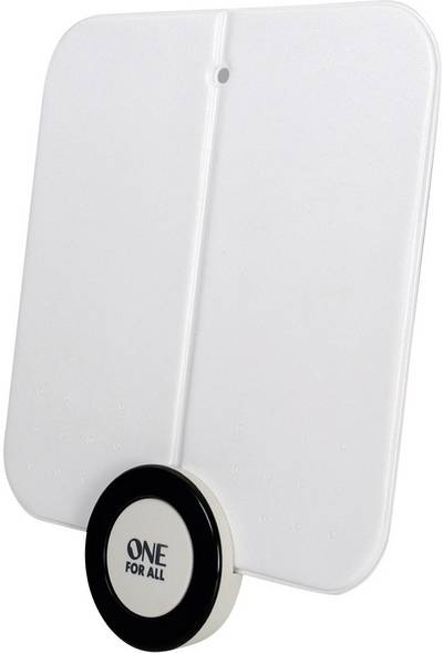Image of One For All SV 9215 DVB-T/T2 active planar antenna Indoors Amplification=41 dB White