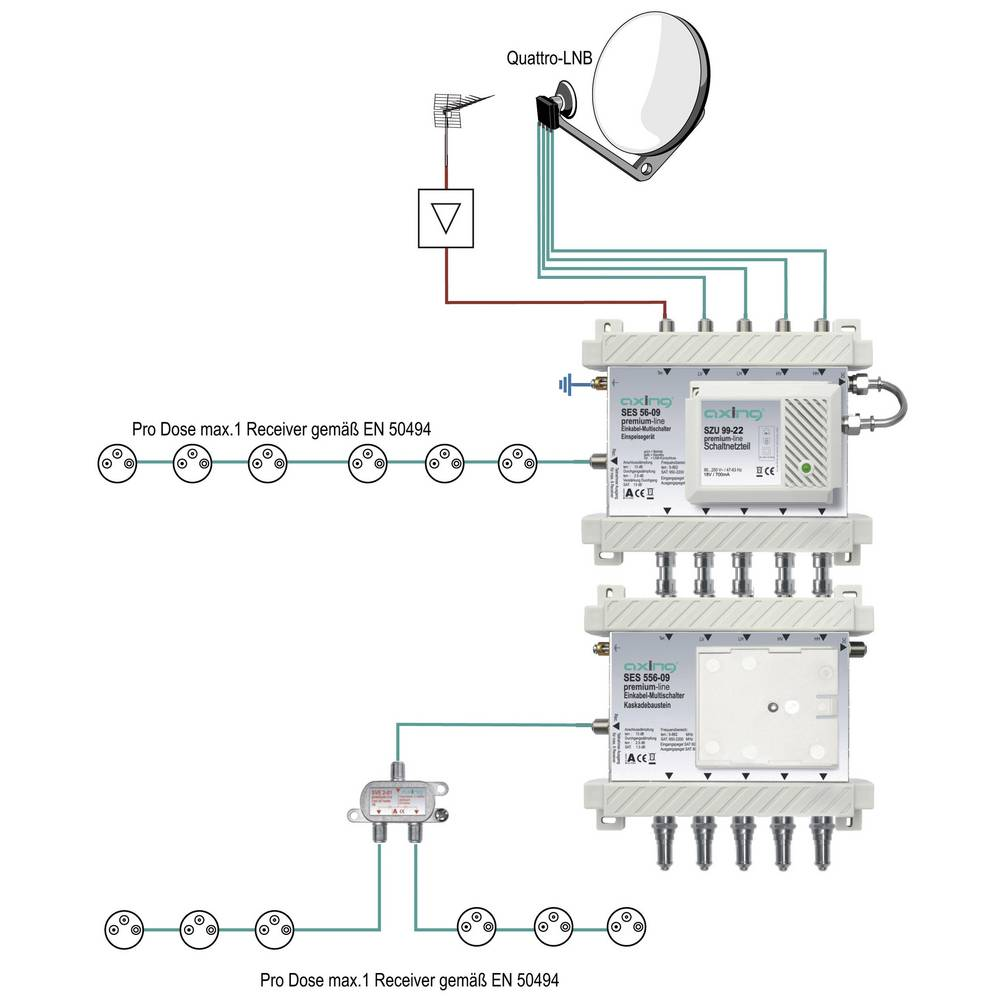 Axing Spu 56 09 Sat Multiswitch Inputs Multiswitches 5 4 1 Light Wiring Diagram