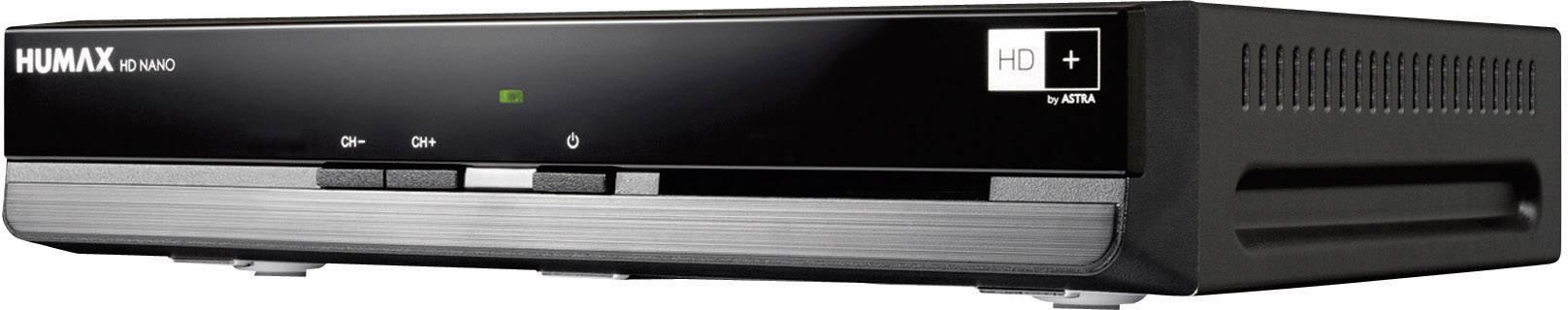 avec c/âble HDMI Conecto inclus HDMI p/éritel DVB-S//S2 Astra pr/éinstall/é Humax HD Nano R/écepteur satellite num/érique HD 1080p HD avec bloc dalimentation 12 V pour camping