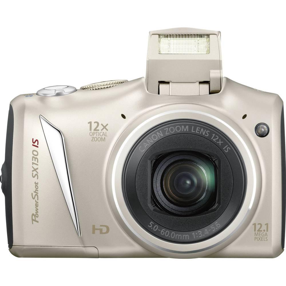 Canon PowerShot SX130 IS digital camera SI, 12.1 MPix, 12 x, 7.6 cm