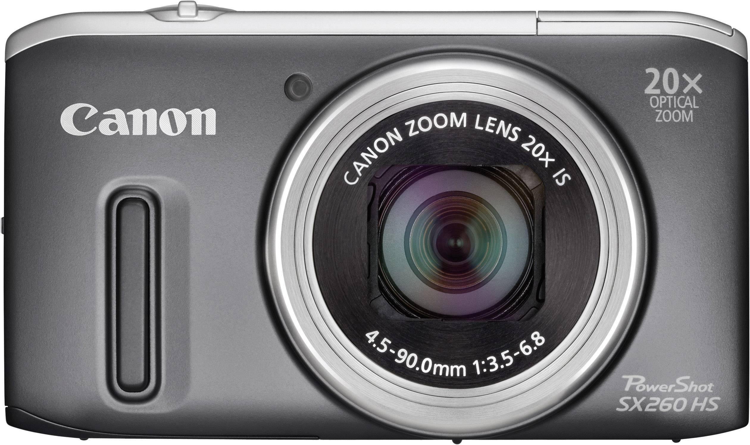 canon powershot sx260 hs digital camera 12 1 mpix 20 x 7 6 cm rh conrad com  canon powershot sx260 hs manual