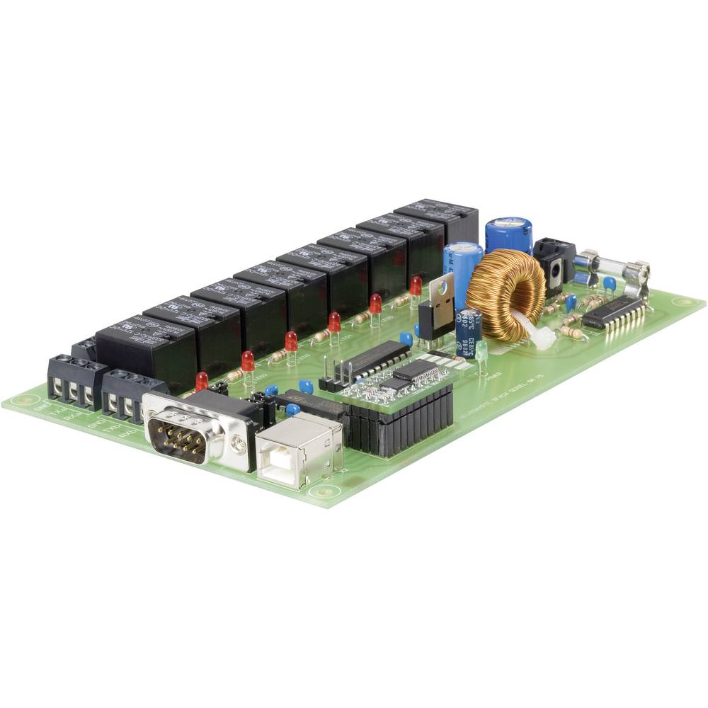 Relay Card Component Conrad Components 197720 12 Vdc 24 From 8 Pin Datasheet