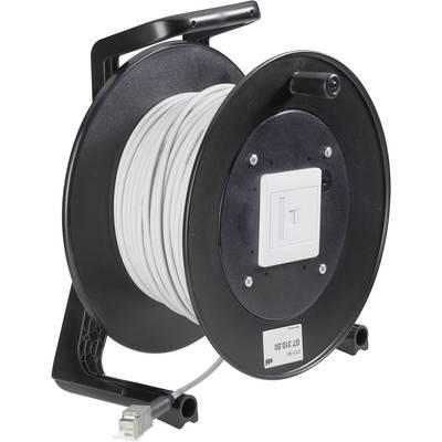 RJ45 Networks Cable reel CAT 5e F/UTP 90 m