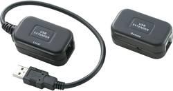 USB 1.1 Extender (forlænger) via netværkskabel RJ45 Renkforce 60 m N/A