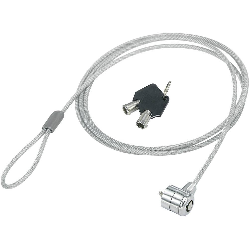 Lokot na kabelu s ključaonicom, za prijenosno računalo, uklj. dva ključa Conrad