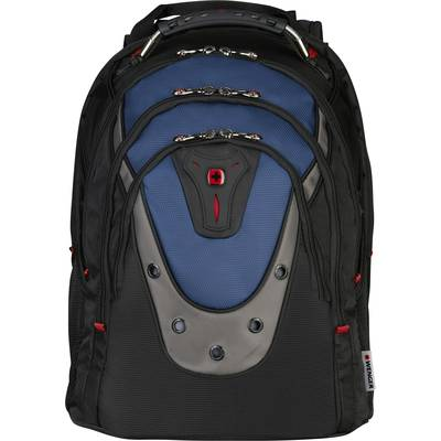 Image of Wenger Laptop backpack IBEX Suitable for up to: 43,9 cm (17,3) Blue-black