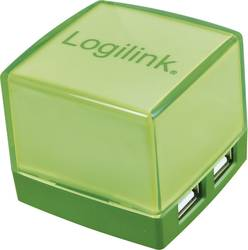 4 porte USB 2.0-hub LogiLink UA0121 Grøn