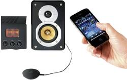Bluetooth® musikmodtager Noxon 10800 Bluetooth®/Jack, Phono (stereo) Sort