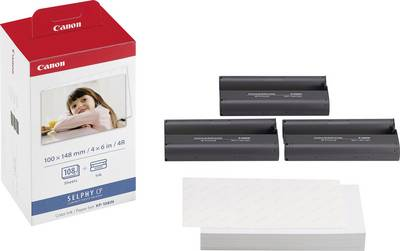 Image of Photo printer cartridge Canon Selphy Photo Pack KP-108IN 3115B001