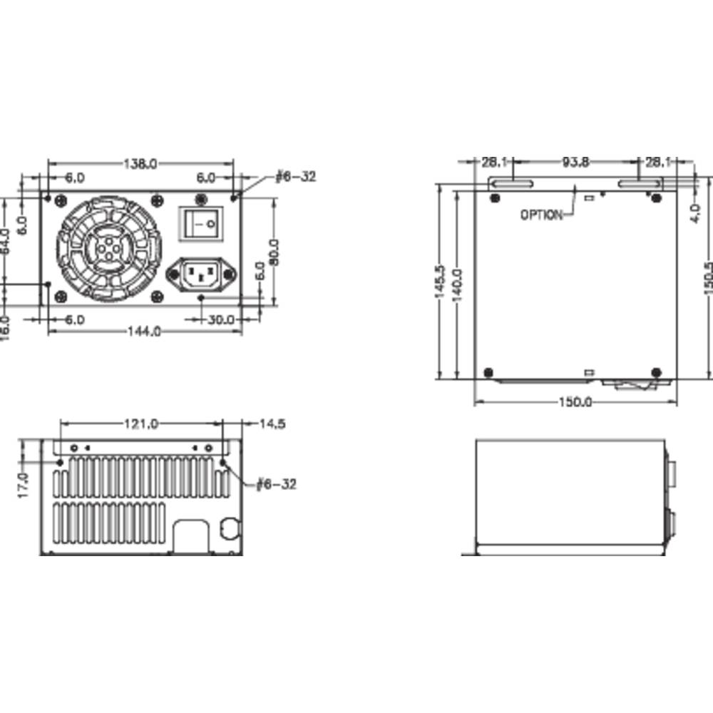 Industrial Pc Psu Bicker Elektronik Bea 635 350 W From Wiring Diagrams