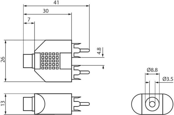 Goobay 11875 RCA / Jack Audio/phono Y adapter [2x RCA plug