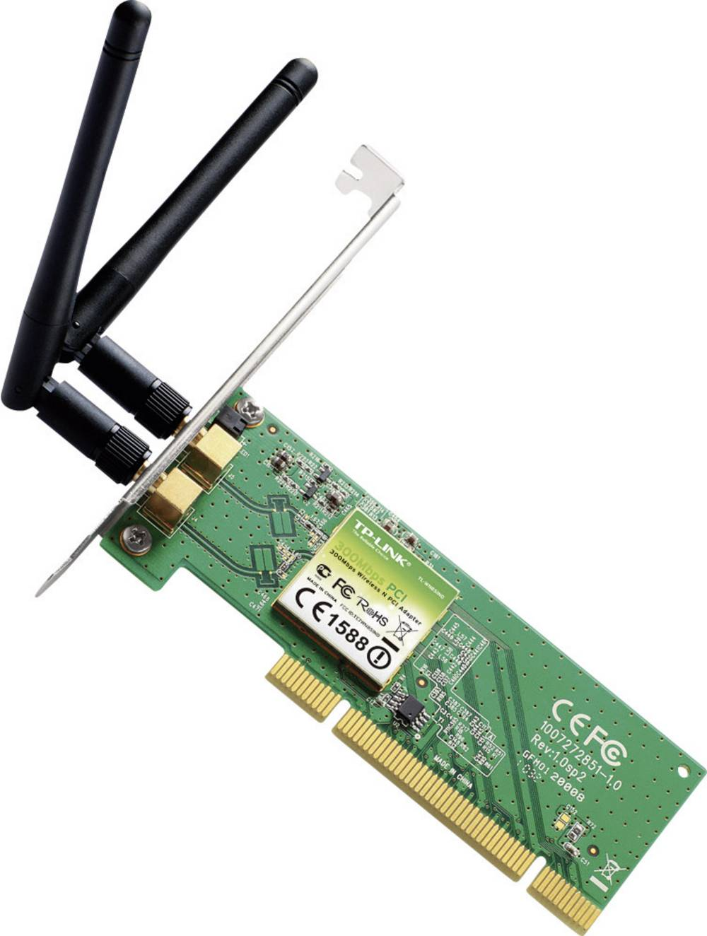 WLAN-adapter TP-Link TL-WN851ND, 300 Mbit/s, Wireless-N, PCI