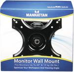 Manhattan Monitor Wall Mount, Adjustable