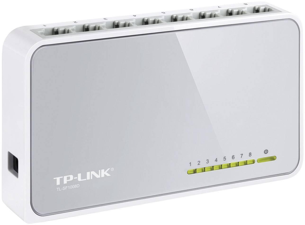 Tp Link Tl Sf1008d Network Switch 8 Ports 100 Mbps Conrad Com