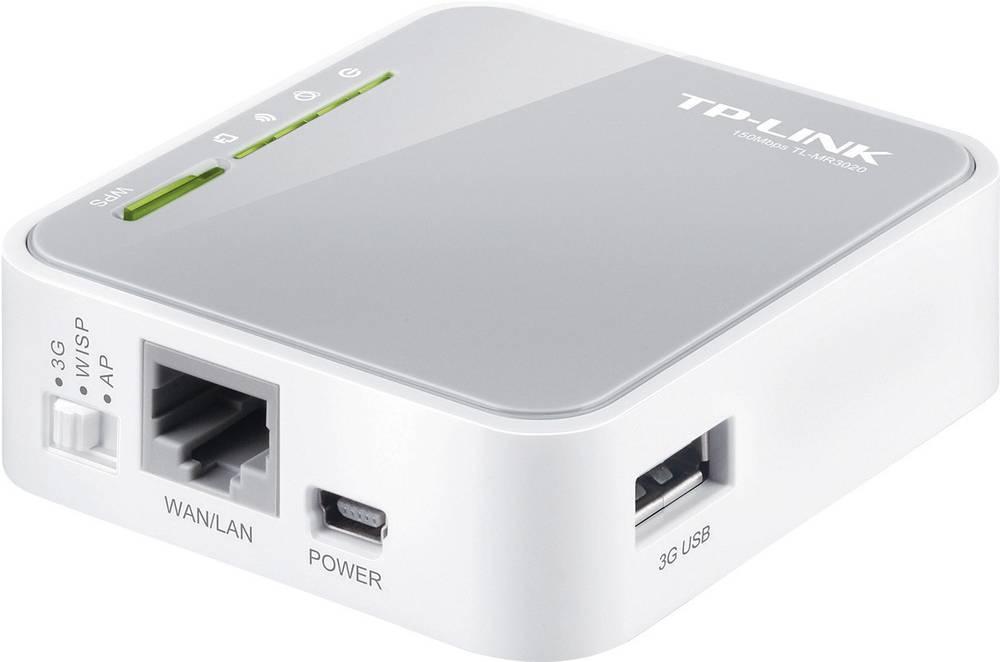 Prenosni 3G/3,75G WLAN-usmerjevalnik TP-Link TL-MR3020, standard Wireless-N