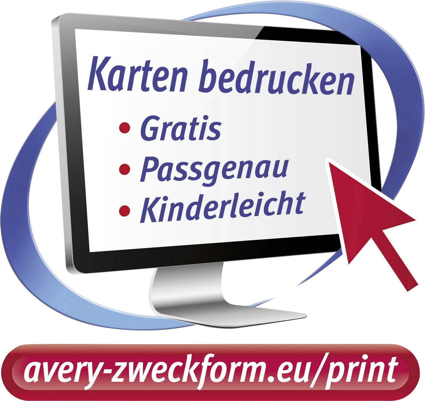 Avery Zweckform C32010 25 Printable Business Cards Micro