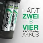 Chargeur enfichable Pro Charger avec 4 accus LR6 2000 mAh