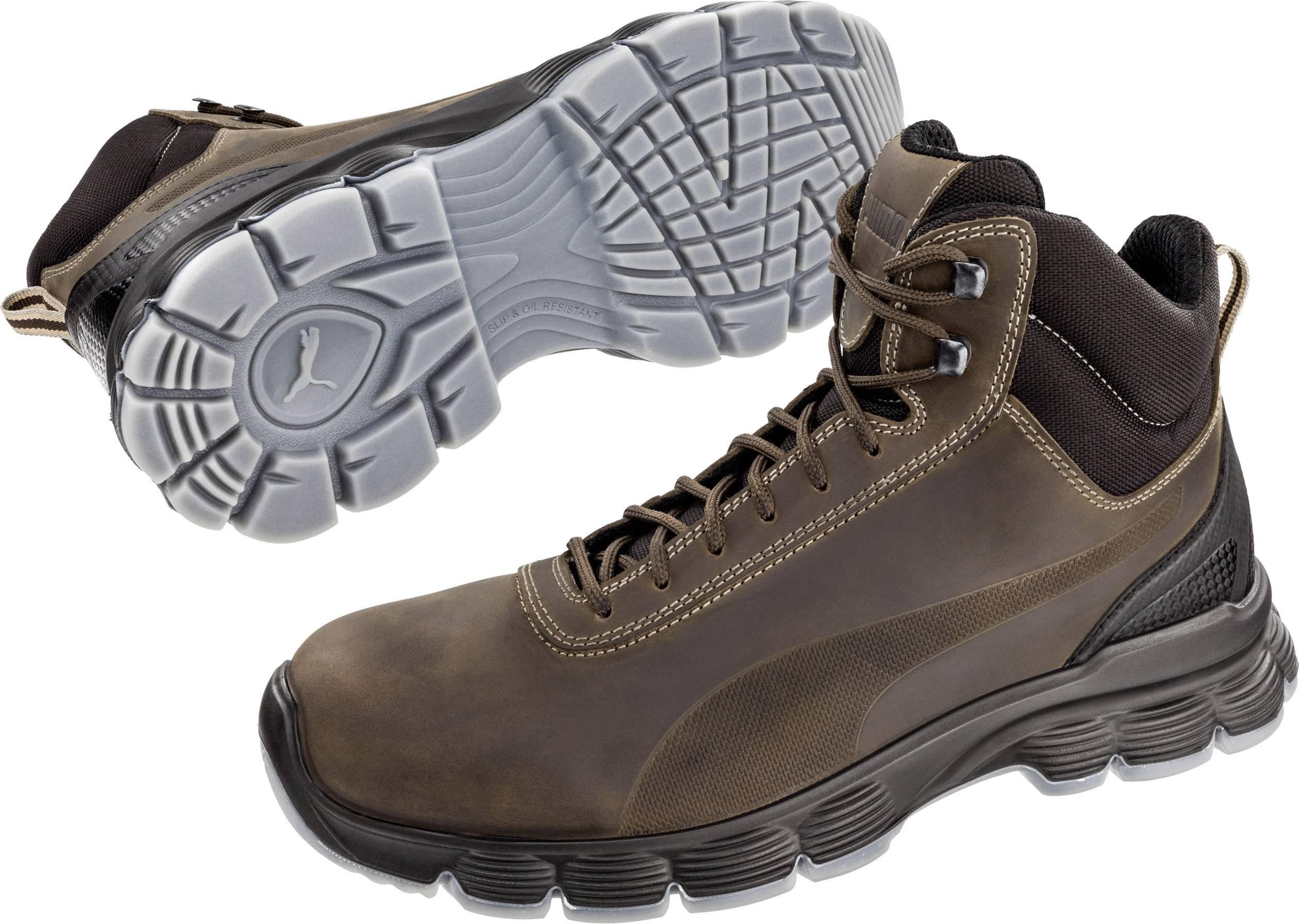 PUMA Safety Condor Mid ESD SRC 630122 43 Chaussures montantes de sécurité ESD S3 Taille: 43 marron 1 paire