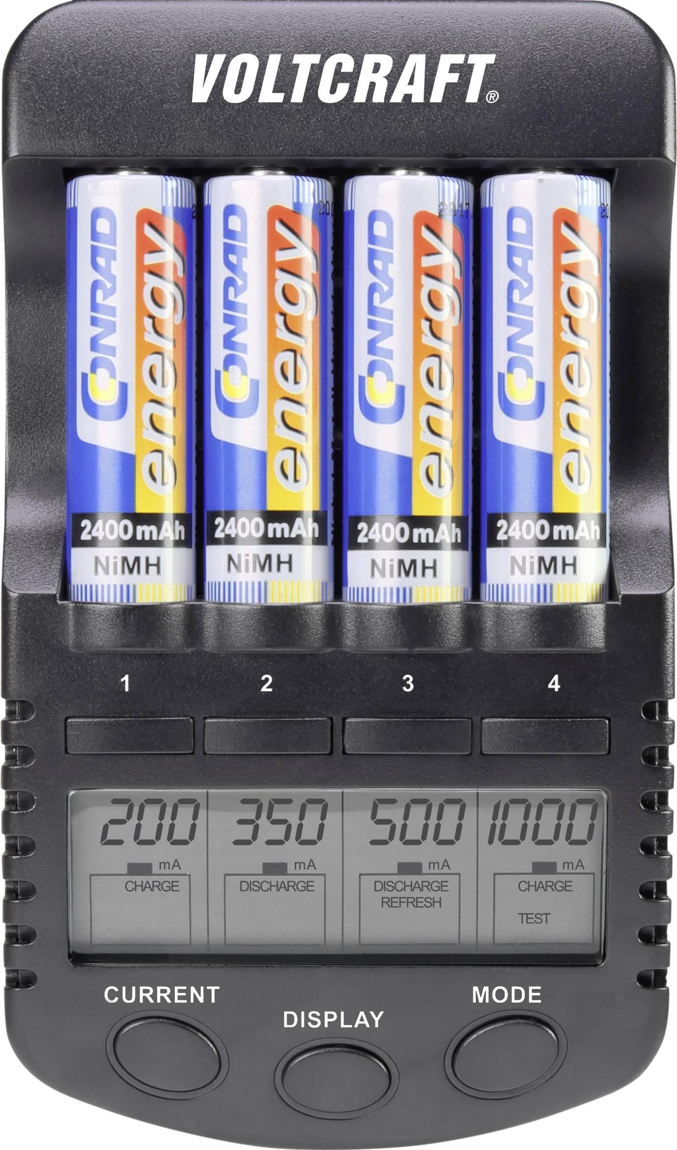 Chargeur de piles rondes NiMH, NiCd VOLTCRAFT IPC 1L |