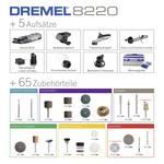 Outil multifonction sans fil 8200-5/65 Edition Platine Dremel