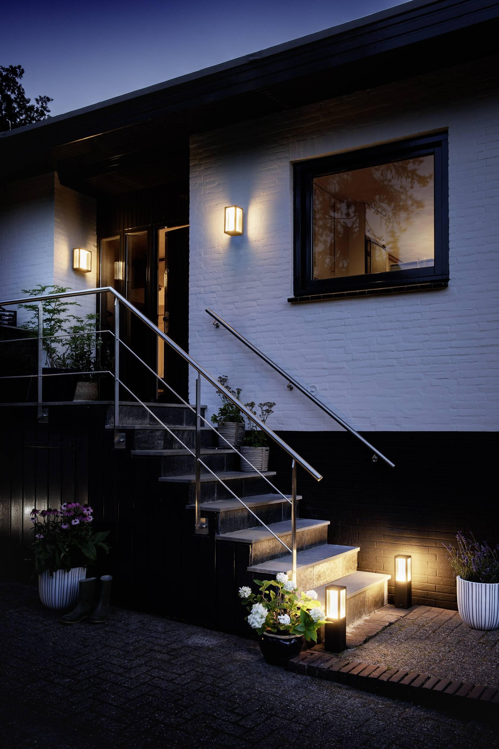 15 Philips Extérieure Applique Fuzo W Murale Hue Intégrée Lighting Led Blanc Chaud n0Pk8wOXNZ