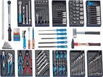 S 1019 - Gedore - assortiment d'outils POUR VOITURE 157 pcs