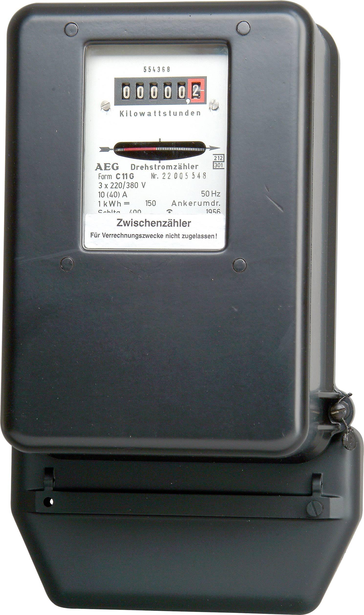 Kopp 192204015 Compteur triphas/é 400/V 10//40/A non certifi/é
